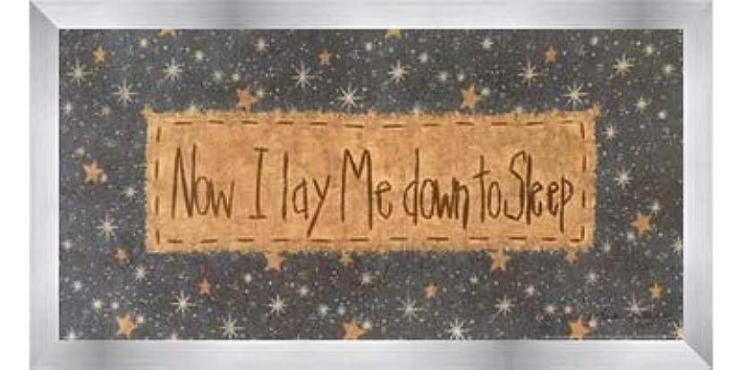 怠ピアース敬意を表するNow I Lay Me Down to Sleep by Vicki Huffman – 16 x 8インチ – アートプリントポスター LE_479949-F9935-16x8