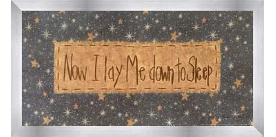 バケツ魅惑する役員Now I Lay Me Down to Sleep by Vicki Huffman – 16 x 8インチ – アートプリントポスター LE_479949-F9935-16x8