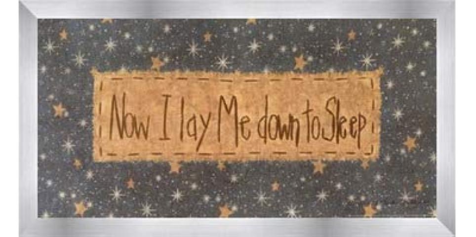 欲望エイズ憂鬱Now I Lay Me Down to Sleep by Vicki Huffman – 16 x 8インチ – アートプリントポスター LE_479949-F9935-16x8
