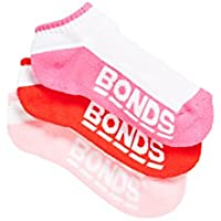 Bonds Kids Logo Low Cut Sport Socks (3 Pack)