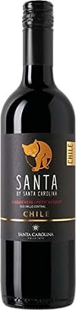 【チリの名門ワイナリーが作る、リッチな味わいのテーブルワイン】サンタ バイ サンタカロリーナ カルメネール/プティ・ヴェルド [ 赤ワイン ミディアムボディ チリ 750ml ]