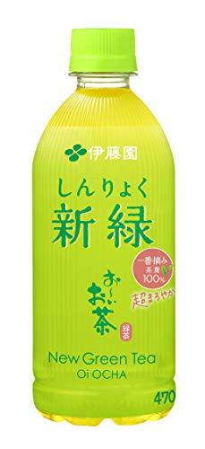 お〜いお茶 新緑 470ml ×24本