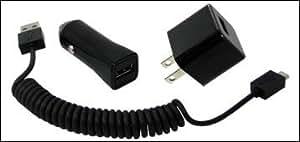 uChargGO+ Apple 30pin Black アップル30ピン(アイフォン4、タブレット等)、カーチャージャー機能も