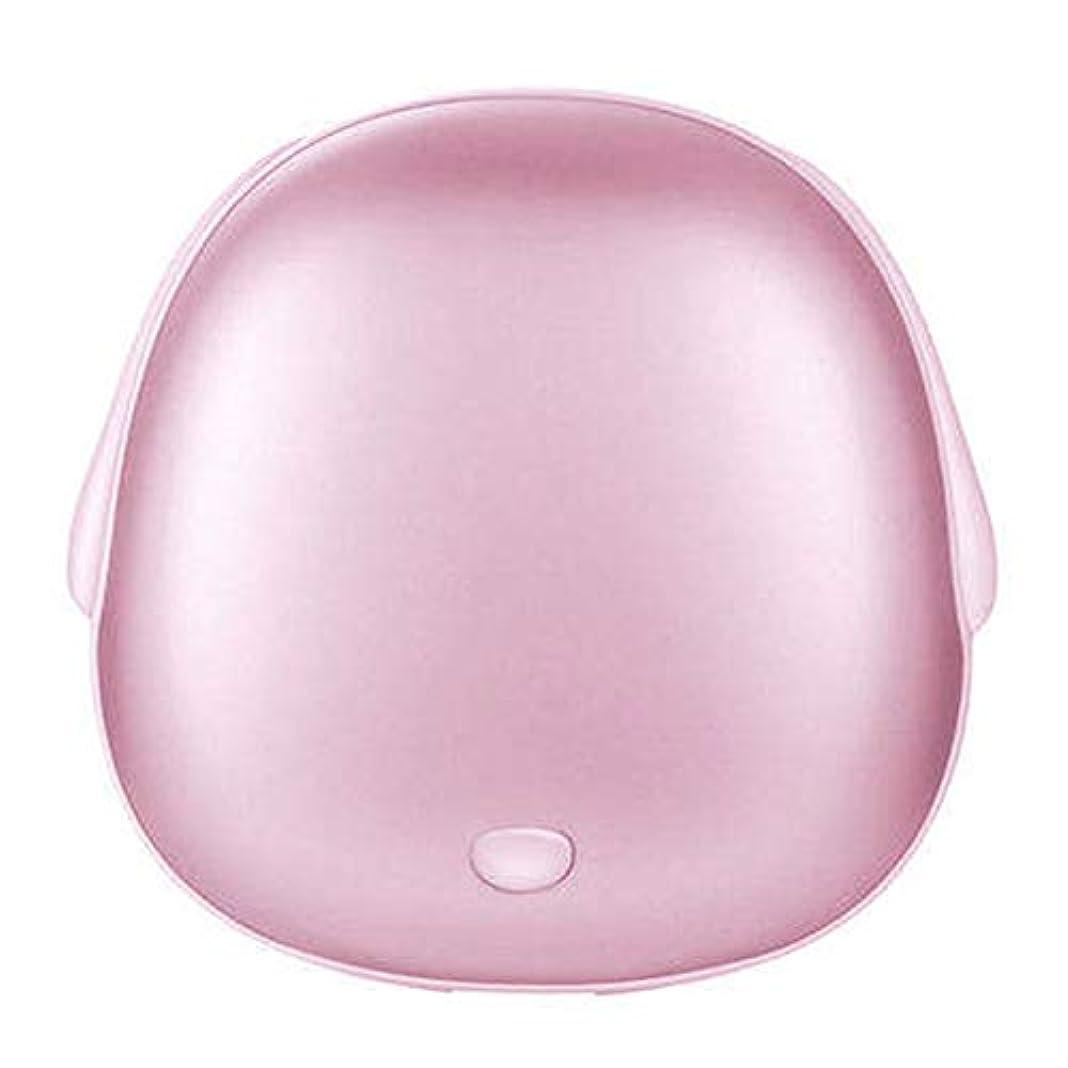 ダンス管理するコテージCAICOLOUR ハンドウォーマー充電宝デュアルユースUSBミニポータブル電気ヒータートレジャーポケットハンドウォーマーモバイルパワーブルー/ピンク