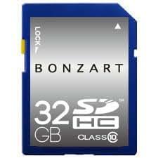 SDカード SDHC 32gb 全国送料無料 BONZART BONZ32GSDHC10 メディア 人気 Class GB 記録 記憶 メモリー32GB ブリスタパッケージ sdカード