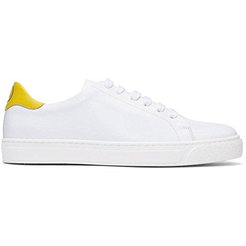 (アニヤ ハインドマーチ) Anya Hindmarch レディース シューズ・靴 スニーカー White & Yellow Wink Tennis Sneakers 並行輸入品