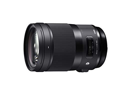 SIGMA 単焦点標準レンズ 40mm F1.4 DG HSM | Art A018 SONY-Eマウント用 ミラーレス(フルサイズ)専用