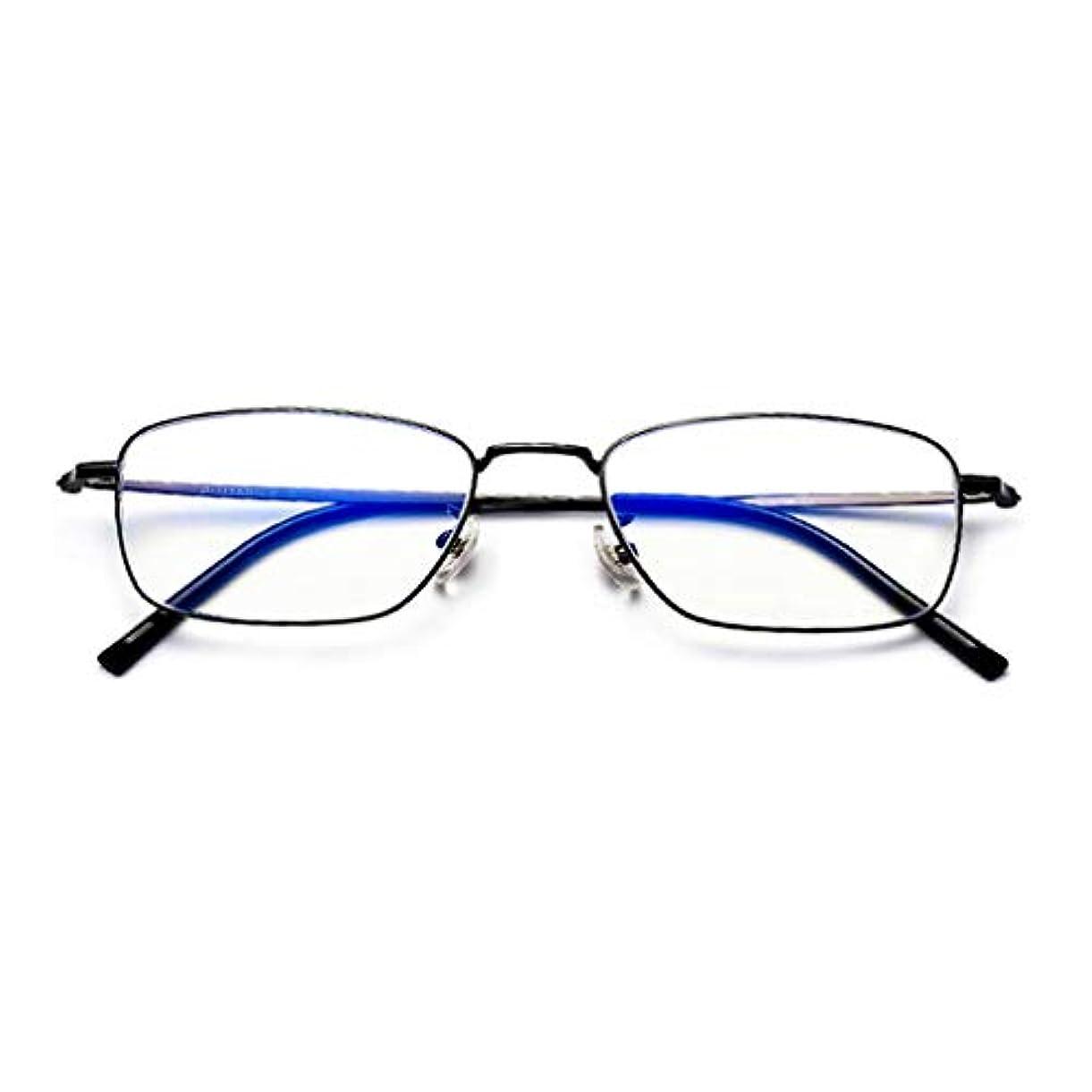 マカダム喜んで飲食店インテリジェント老眼鏡 フォトクロミック老眼鏡、屋内および屋外兼用老眼鏡、インテリジェントズームサングラス、ユニセックス光学眼鏡、チタンフレーム/樹脂レンズ/UV保護