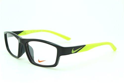 男性用 nike ナイキ パソコン用メガネ PCメガネ 7881 006 AF ブルーライトカット 紫外線カット 伊達メガネ 度無 透明レンズ アジアンフィット 加工済み 専用ケース付属