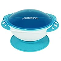 Stay Put Baby Bowls with SuctionVacuum Seal with Quick Tab Release and Snap on Lids Spill Proof 3 Compartment Food Storage Design From BEEBOOBOPBOO [並行輸入品]