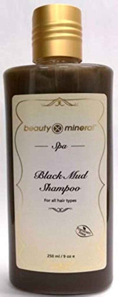 マスク見物人ネクタイBeauty Mineral デッドシー・ブラックマッドシャンプー 250ml