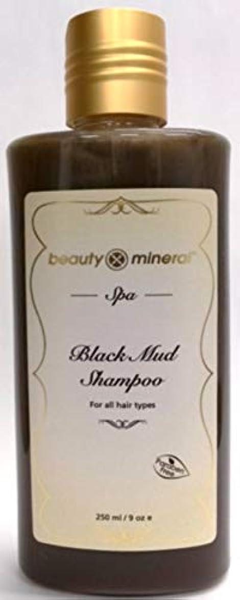 長方形安らぎ教Beauty Mineral デッドシー?ブラックマッドシャンプー 250ml