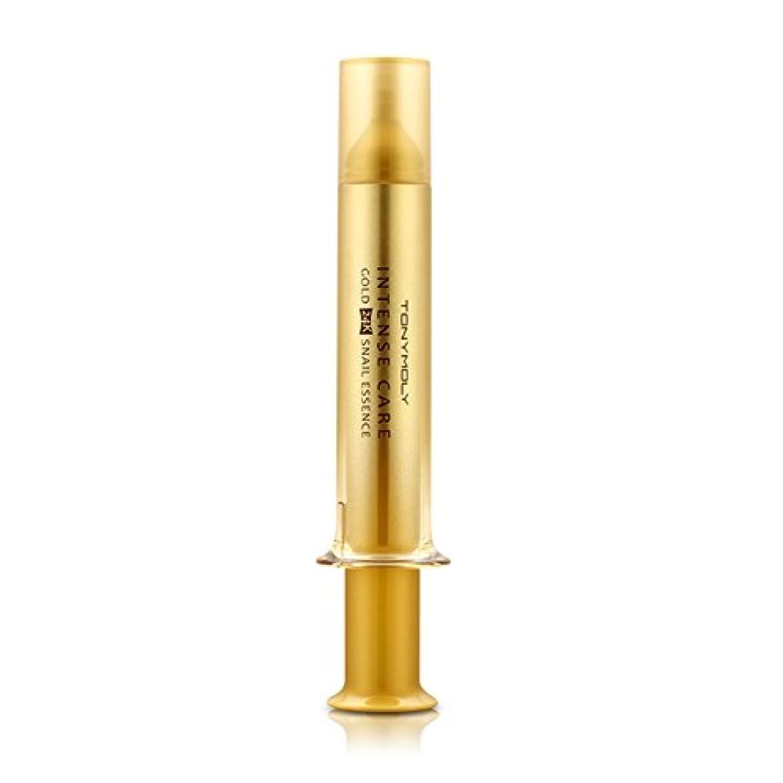 リズミカルな一晩脱臼するTONYMOLY INTENSE CARE Gold 24K Snail Essence 15ml