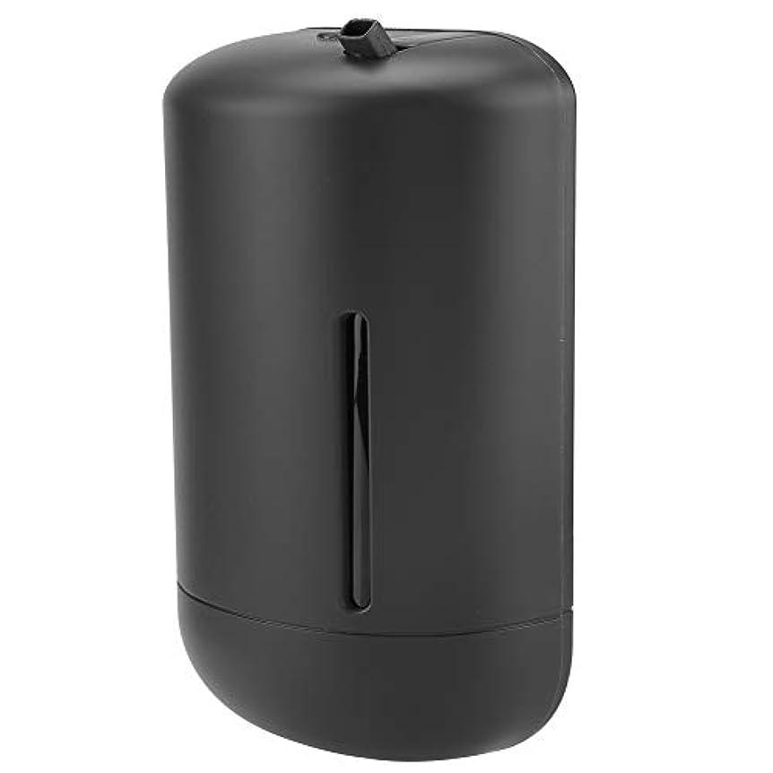グラディスまもなく最小エッセンシャルオイルマシン、調整可能な自動空気フレグランスディスペンサー芳香剤アロマディフューザー香りミスト加湿器(米国プラグ110-240 v)(黒)