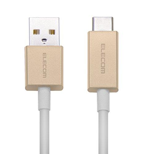 エレコム USB Type C ケーブル [ タイプC ] USB-C & USB-A カラー 準拠品 1.2m ゴールドMPA-FACCL12GDの詳細を見る