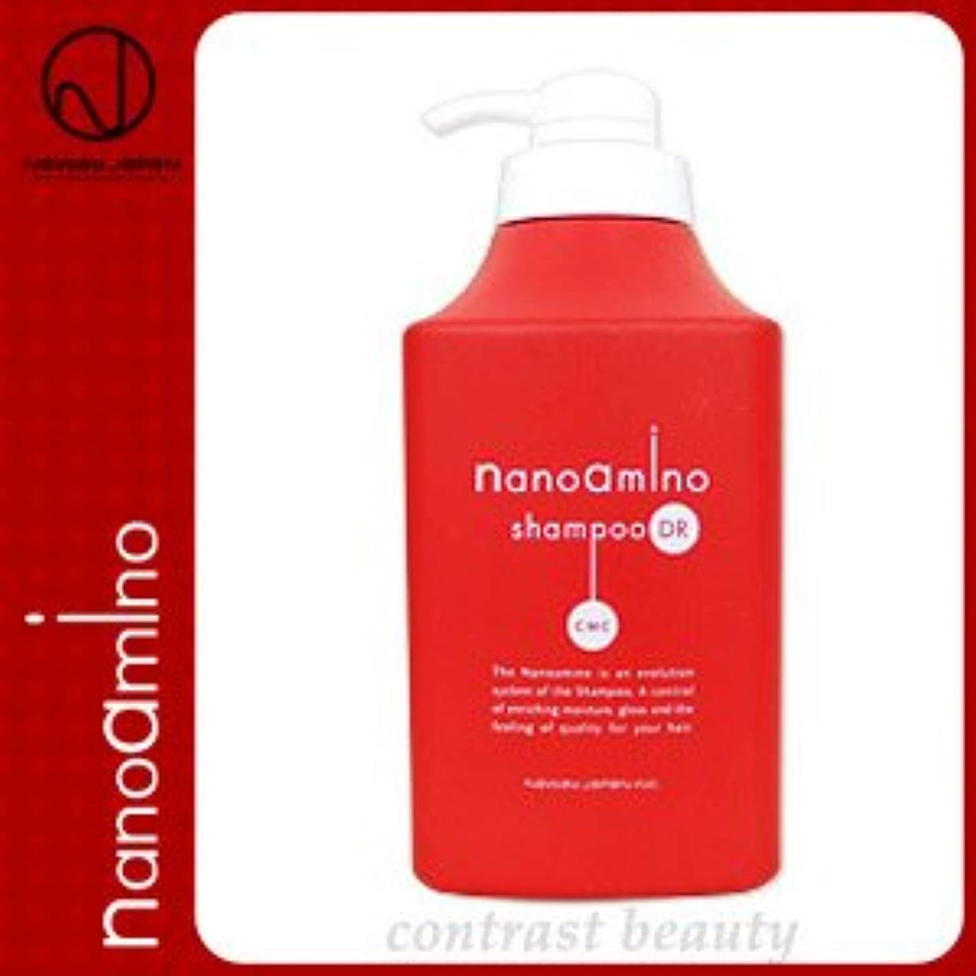 完全に乾くイソギンチャク伝える【X3個セット】 ニューウェイジャパン/NEWAY JAPAN ナノアミノ シャンプー DR 1000ml ポンプ付き容器入り