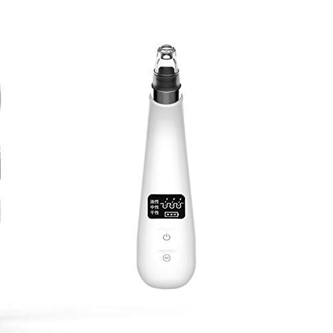 活性化する音楽切断する電気にきび楽器usb充電式ポータブル顔の毛穴クリーニング美容機器にきびコメドーン真空吸引リムーバー