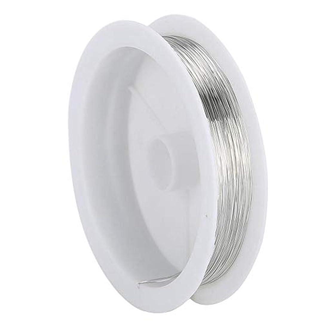 高度トイレ証明するDIY ジュエリーワイヤー ビーズひもジュエリーアクセサリーネイルアートマニキュア金属銅線糸(2)