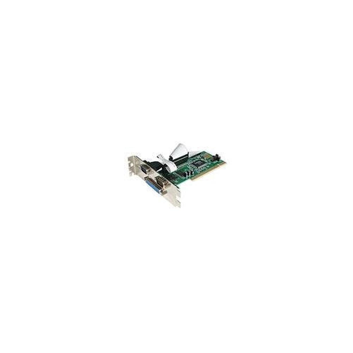 冷酷なナプキンちょうつがいStarTech 2 - Portシリアル/パラレルPCIカード1 - Port pci2s1p