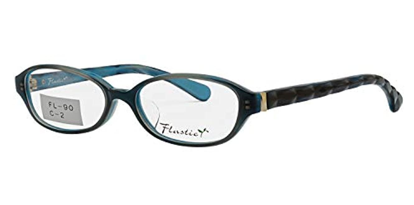鯖江ワークス(SABAE WORKS) 老眼鏡 ブルーカット おしゃれ 女性用 FL90 +1.50
