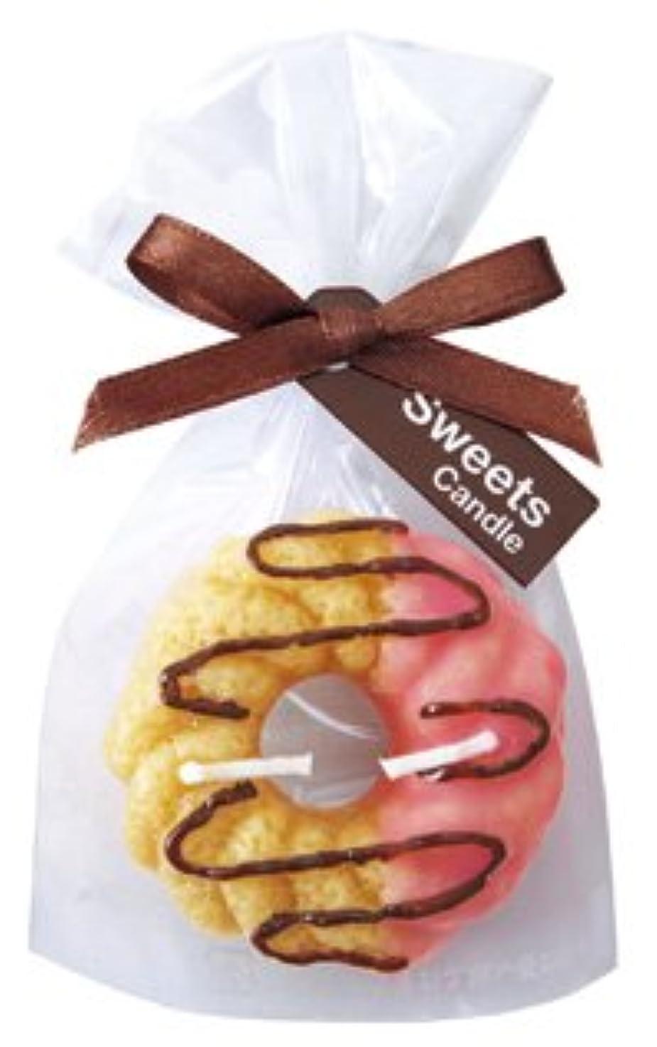 sweets candle(スイーツキャンドル) スイーツキャンドル プチスイーツキャンドル フレンチクルーラー BA636-05-84(A6360584)