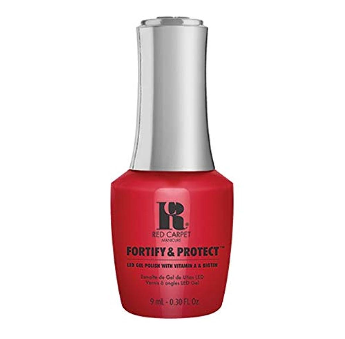 熱心サリー貸すRed Carpet Manicure - Fortify & Protect - Red Carpet Premiere - 9ml / 0.30oz