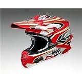 ショウエイ(SHOEI) ヘルメット VFX-W BLOCK-PASS TC-1 レッド/ホワイト M ds-1426900