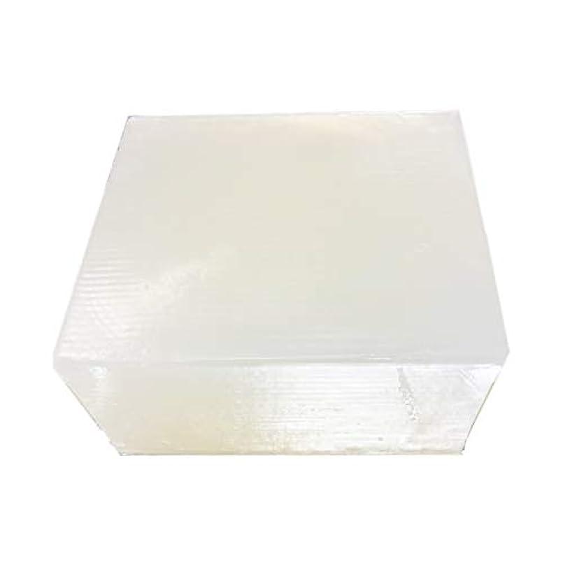 引き付ける湿ったベーシックグリセリンソープ(MPソープ)11.4kg(11,400g?1塊り)クリア