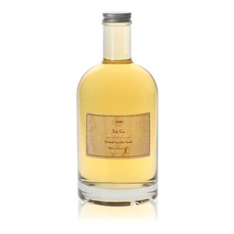 偉業チロ扇動する【SABON(サボン)】Bath Foam Patchouli Lavender Vanilla バス フォーム パチョリ ラベンダー バニラ