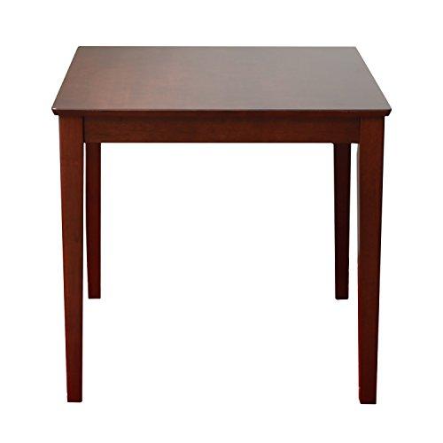 3244 木製ダイニングテーブル ラバーウッド MTS-063 (ブラウン, W750)