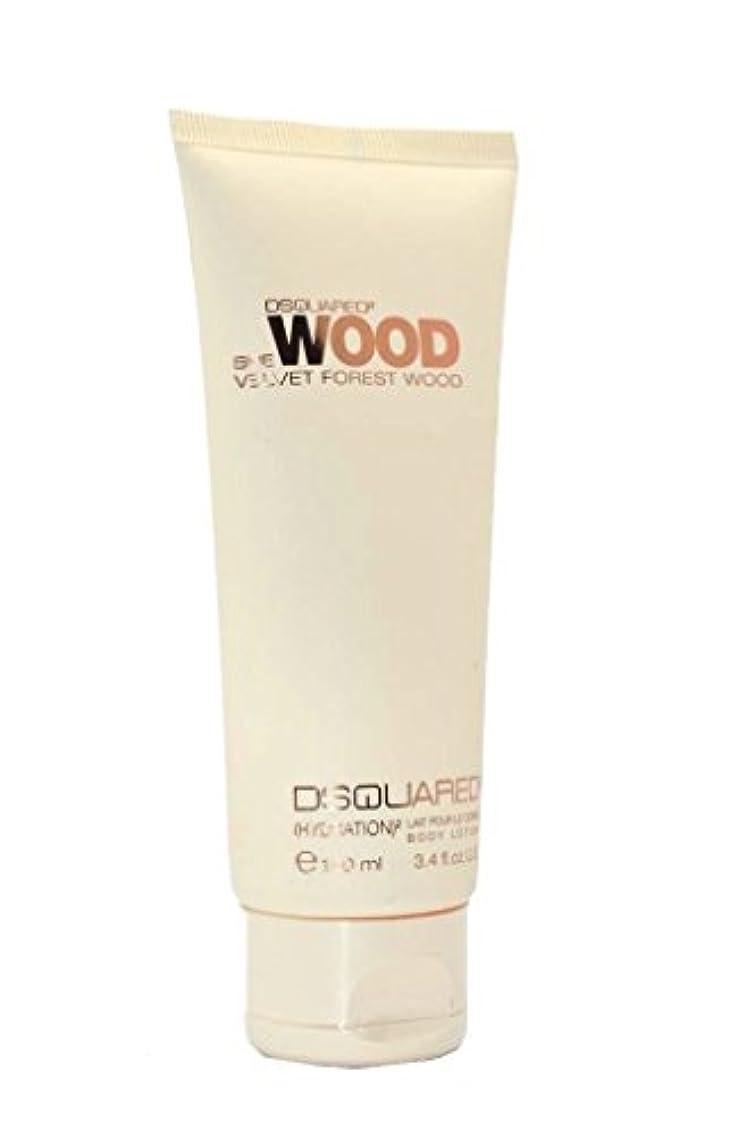 新鮮な苦悩安定Dsquared2 She Wood Velvet Forest Wood Body Lotion(ディースクエアード シー ウッド ベルベット フォレスト ウッド ハイドレーション ボディー ローション)100ml [...