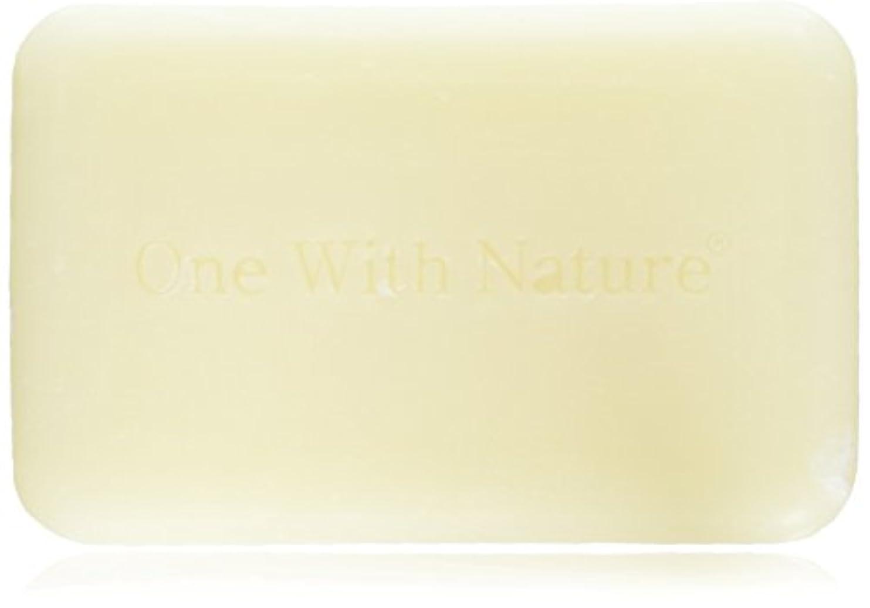 構成するテキスト出発One With N 6ピース裸石鹸、ヤギのミルク、ラベンダー、4オンス
