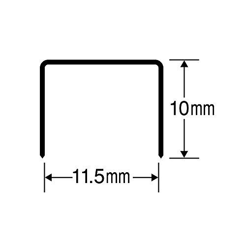 『マックス ホッチキス針 No.3-10mm 中型3号』の1枚目の画像