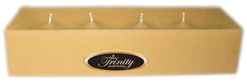 追放海洋の木材Trinity Candle工場 – Cookieベイク – Pillar Candle – 12 x 4 x 2 – ログ
