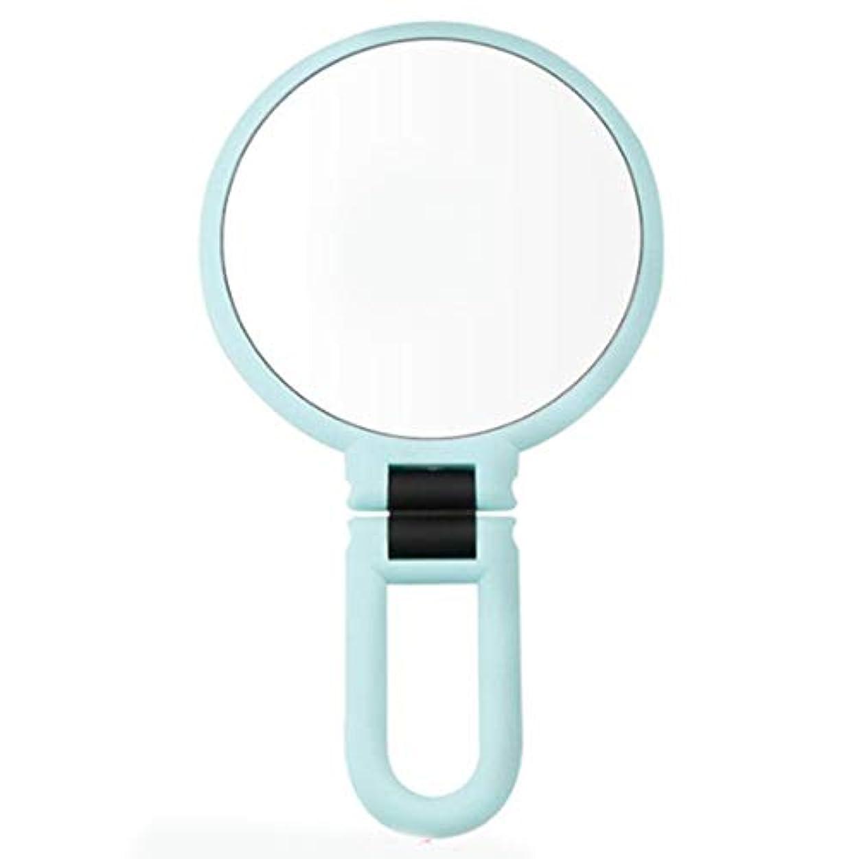 敬礼論争の的欲しいですRETYLY 10倍拡大化粧鏡化粧品ledロックサクションカップ明るい拡散光360度回転化粧品メイクアップ、グリーン