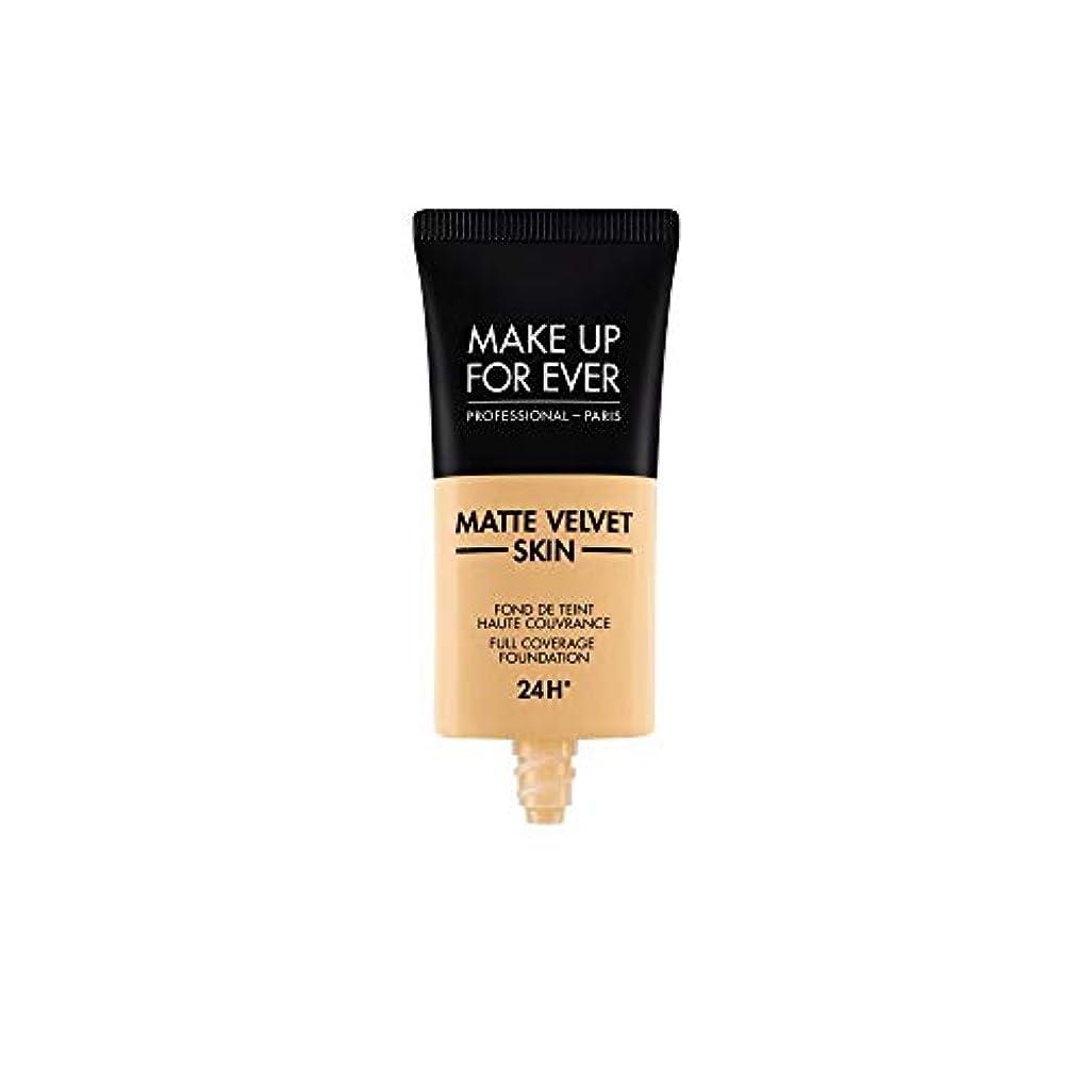 近所の洗練されたへこみメイクアップフォーエバー Matte Velvet Skin Full Coverage Foundation - # Y245 (Soft Sand) 30ml/1oz並行輸入品