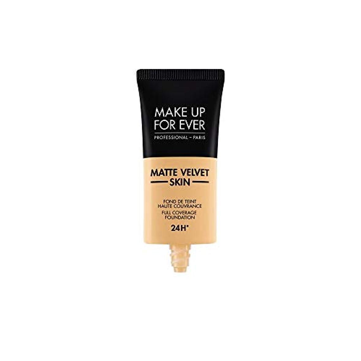 混乱させる疫病ピューメイクアップフォーエバー Matte Velvet Skin Full Coverage Foundation - # Y245 (Soft Sand) 30ml/1oz並行輸入品