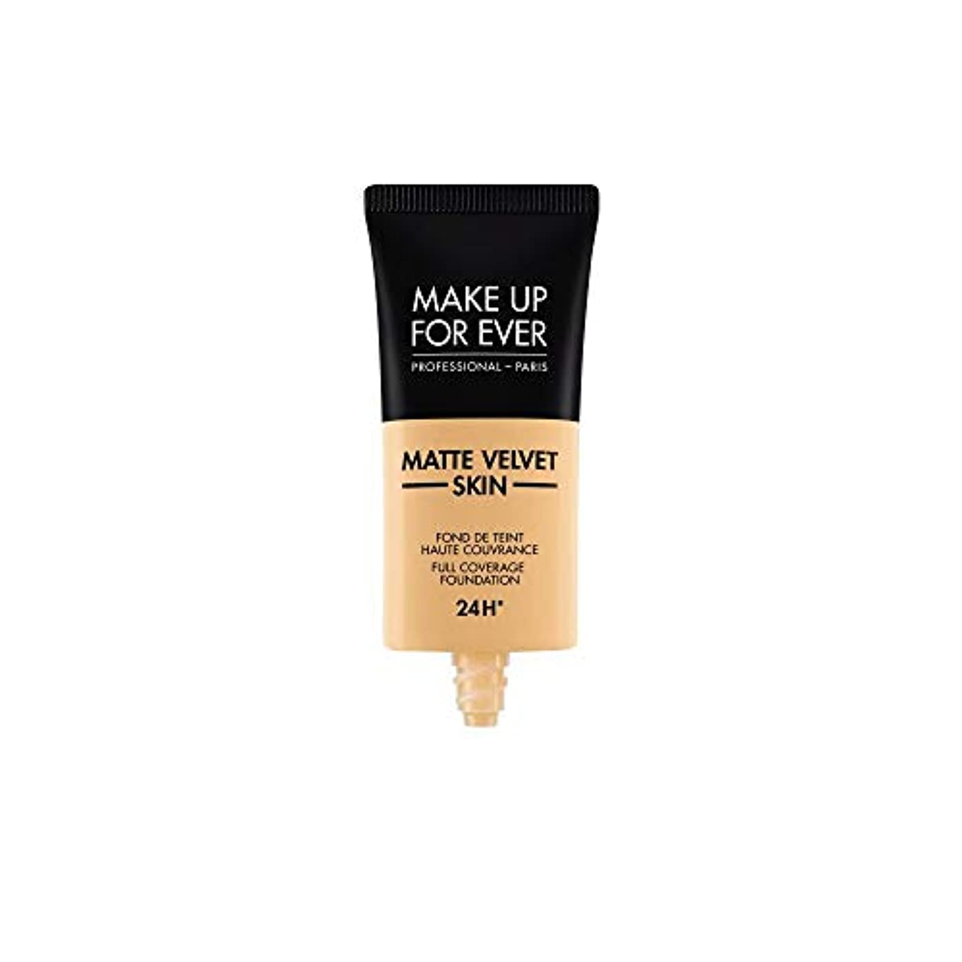 チャップ拍手和メイクアップフォーエバー Matte Velvet Skin Full Coverage Foundation - # Y245 (Soft Sand) 30ml/1oz並行輸入品