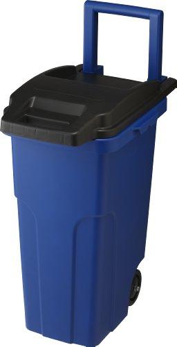 ゴミ箱 キャスターペール2輪46L ブルー