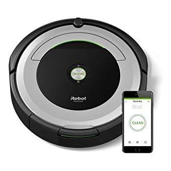 ルンバ690 アイロボット ロボット掃除機 wifi対応 遠隔操作 自動充電 清掃予約 髪の毛 ペットの毛のゴミ 畳などの床に R690060【Alexa対応】