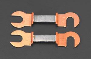 エスコ 200A/55mm銅つめ付ヒューズ(2本) EA758ZP-7D