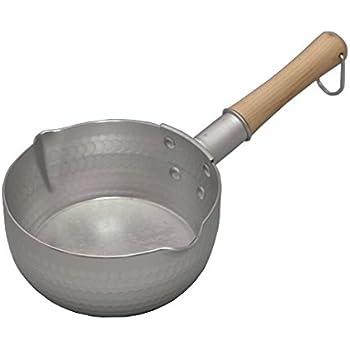谷口金属 日本製 和の職人 ゆきひら鍋 シルバー 18cm 容量:1.8L IH・ガス火兼用 軽くて使い易い 熱伝導がよいアルミニウム製
