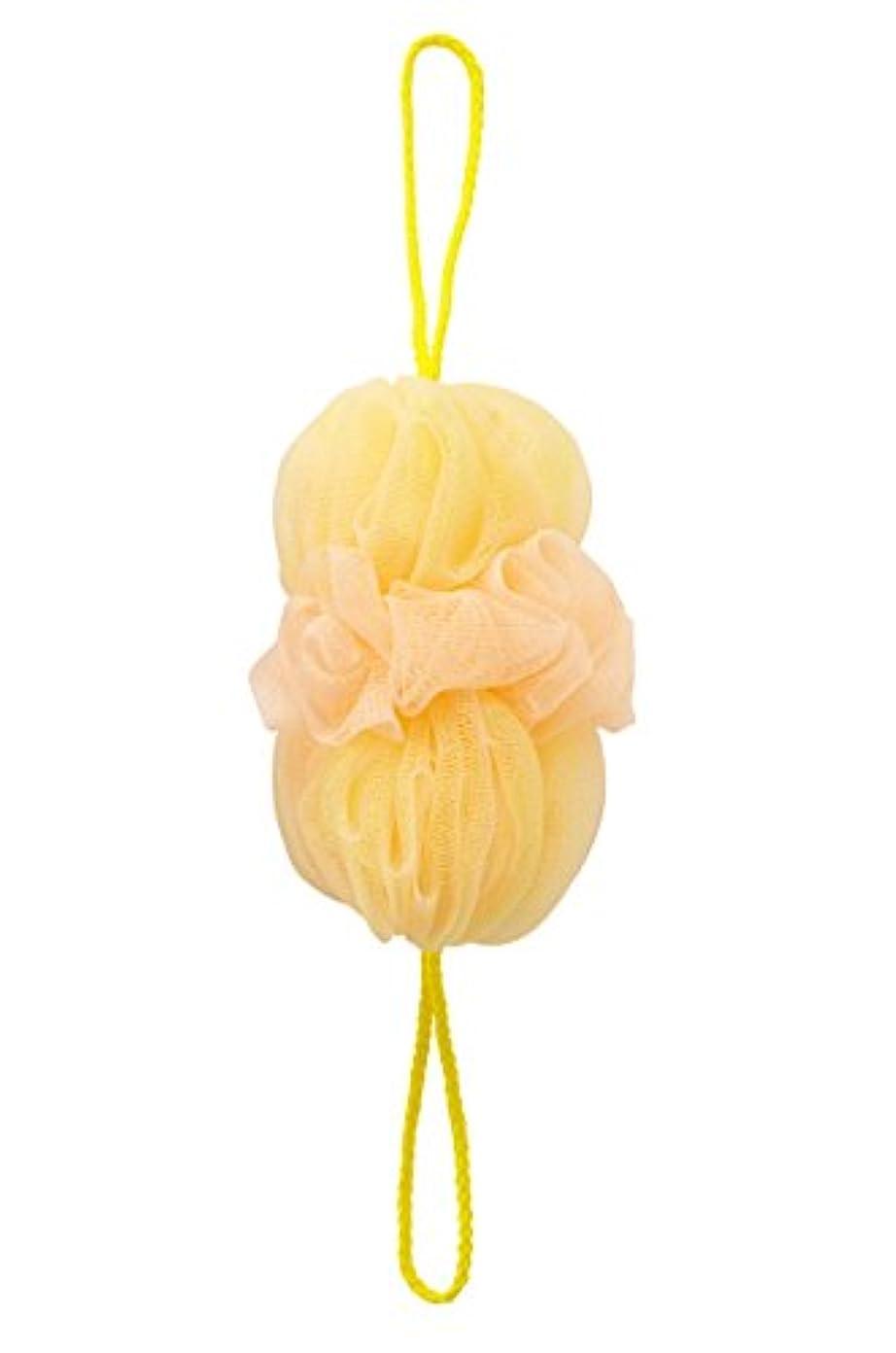 意志怠参照するマーナ(MARNA) 泡工場 背中も洗えるシャボンボール イエロー