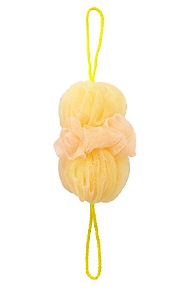変更可能正当なありがたいマーナ(MARNA) 泡工場 背中も洗えるシャボンボール イエロー