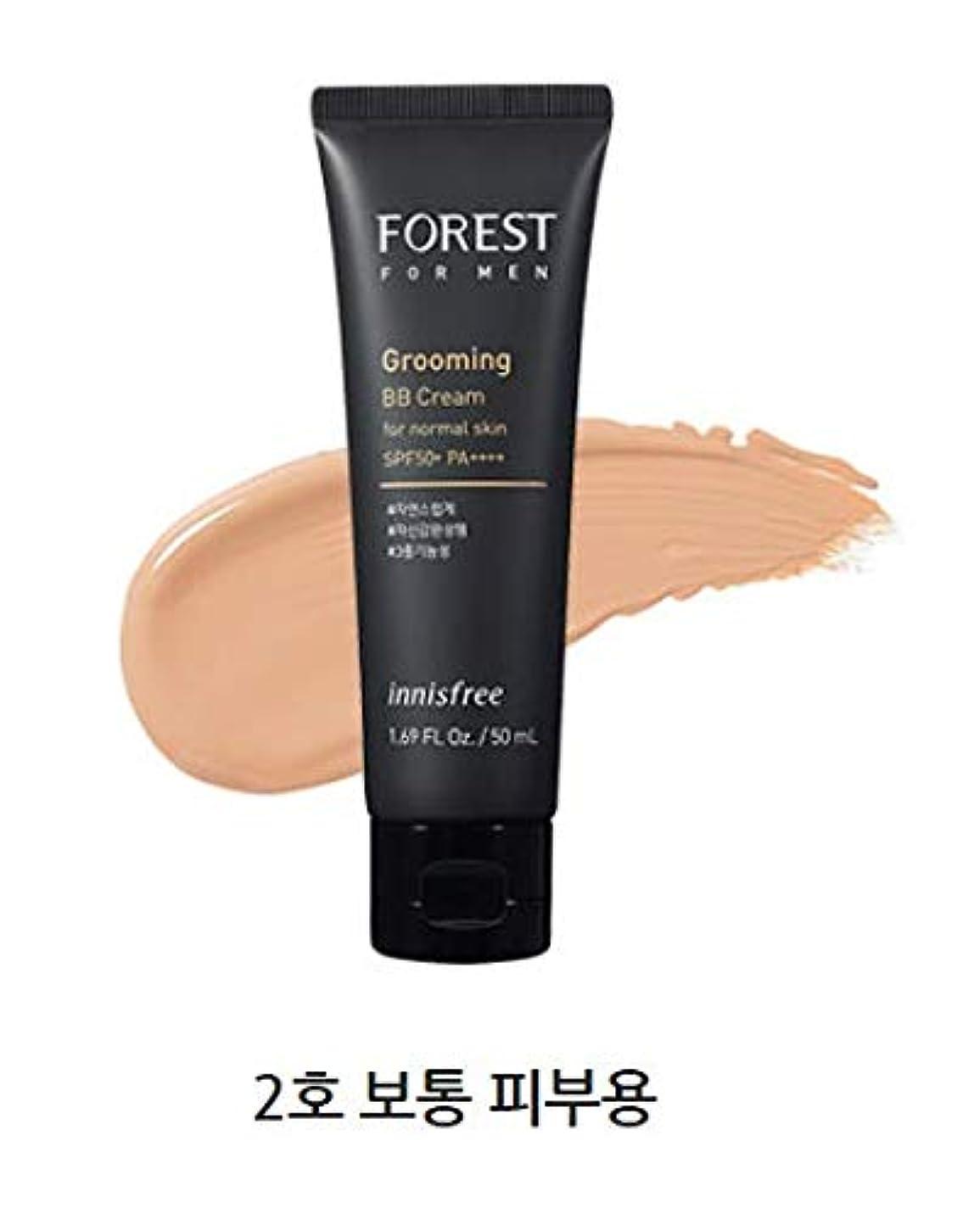 明快装置記念品[イニスフリー.innisfree]フォレストフォアマングルーミングBBクリームSPF50+ PA++++50mL/ FOREST FOR MEN GROOMING BB CREAM SPF50+ PA++++ (#2...