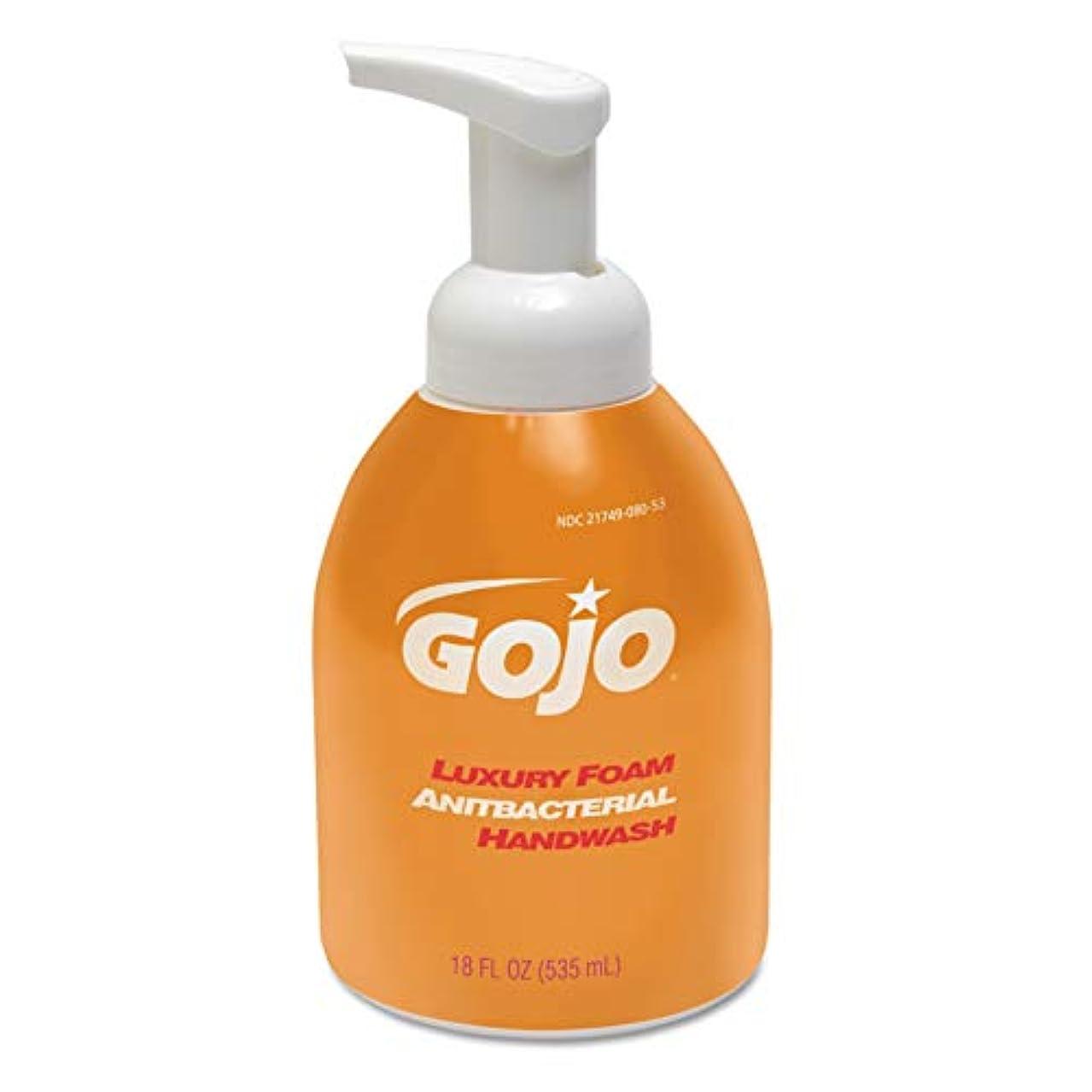 ハグ従順なフロンティアLuxury Foam Antibacterial Handwash, Orange Blossom, 18 oz Pump (並行輸入品)