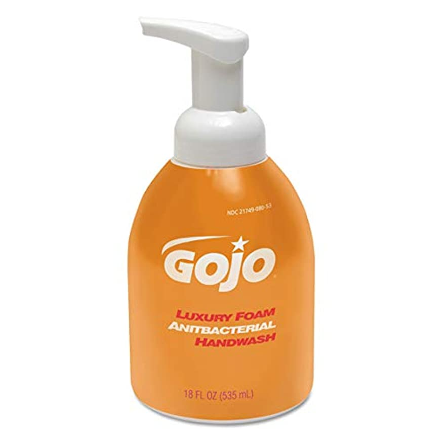 チロ金貸し二層Luxury Foam Antibacterial Handwash, Orange Blossom, 18 oz Pump (並行輸入品)