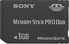 SONY メモリースティックPROデュオ 1GB MSX-M1GST