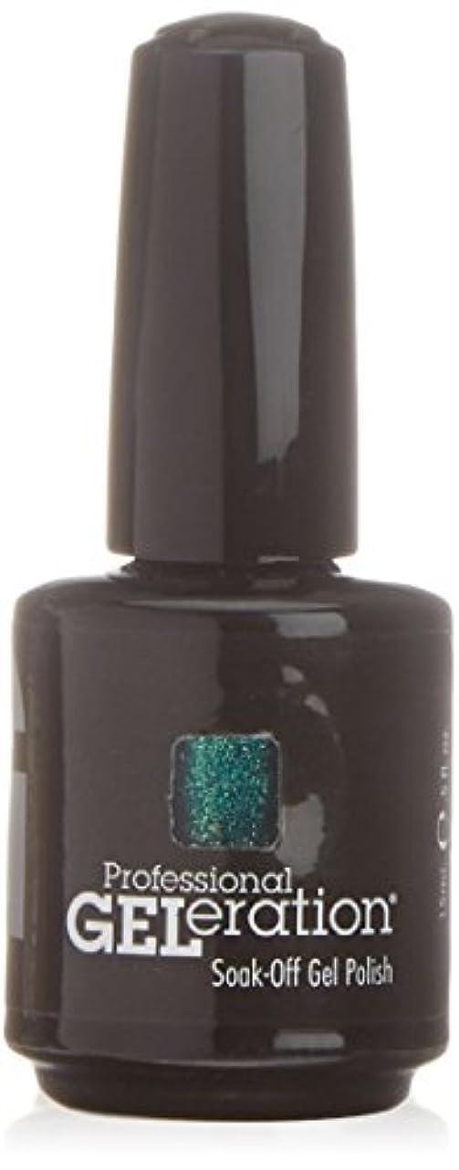 キノコ脚報酬ジェレレーションカラー GELERATION COLOURS 971 G パシフィックパラダイス 15ml UV/LED対応 ソークオフジェル