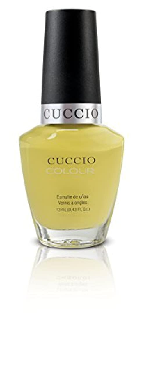 眉だますショットCuccio Colour Gloss Lacquer - Good Vibrations - 0.43oz / 13ml